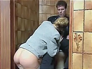 Vintage Toilet Clothed Blowjob Milf Milf Ass Milf Blowjob