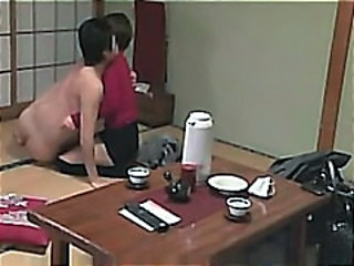 Part 2: Japanese Wife Banged in Hot Spring while Husband Next Door