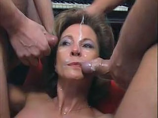 Cumshot Facial European Cumshot Mature European Gangbang German