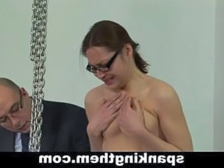Spanking Secretary Punish