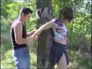 Slave Outdoor Teen Crazy Forest Outdoor Outdoor Teen Slave Teen Teen Outdoor