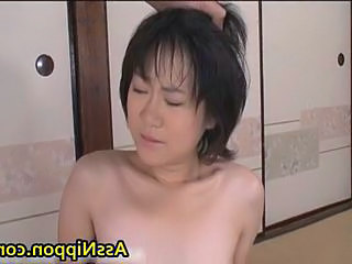 Cute Asian Babe engulfing hard and drilled good