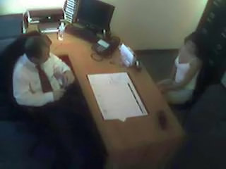 HiddenCam Office Voyeur Foot Interview
