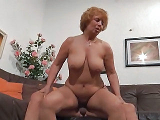 Mature German European German Mature Riding Mature