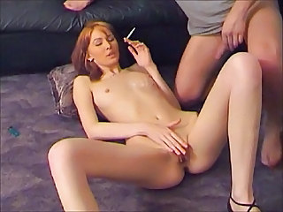Smoking Redhead Small Tits Amateur Teen Cute Amateur Cute Teen