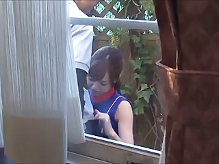 Asian Blowjob Outdoor Outdoor