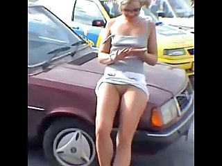 Upskirt Teen Car Car Teen Outdoor Outdoor Teen