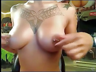 Tattoo Nipples Piercing Chinese Filipina