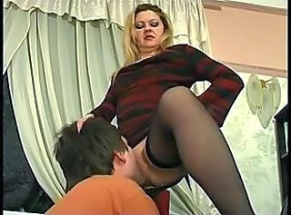 Licking Mom Stockings Mature Stockings Old And Young Russian Mature