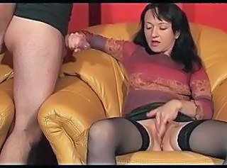 Handjob Masturbating Stockings Handjob Amateur Masturbating Amateur Milf Stockings