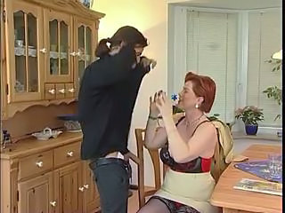Kira Red Busty Redhead German Mature Dril ...