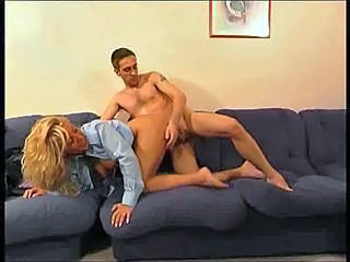 French Blonde Doggystyle French Milf