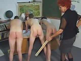 Spanking Mature School School Teacher