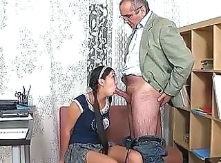 Blowjob Old And Young Pigtail Old And Young