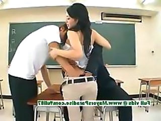 Asian Ass Japanese Asian Teen Classroom Innocent