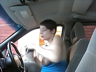 Amateur Car Glasses Milf Ass Public Public Amateur