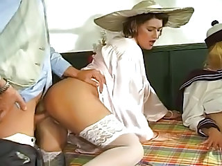 German Groupsex Clothed Babe Ass German Vintage Stockings