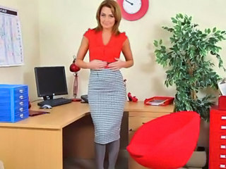 Skirt  Office Milf Office Office Milf