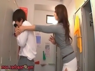 Kaori Hot Japanese teacher getting free
