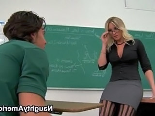 Skirt Glasses  Milf Ass Milf Stockings School Teacher