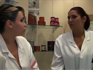 Interracial - Two French bitches, Talia and Kl