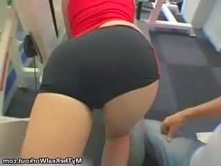 Fit girl loves working out free