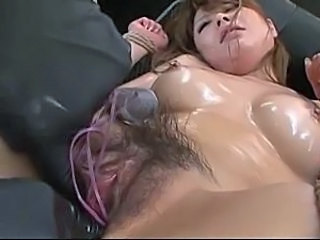 Machine Oiled Asian Hairy