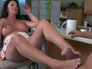 Feet Fetish Mature Foot Footjob