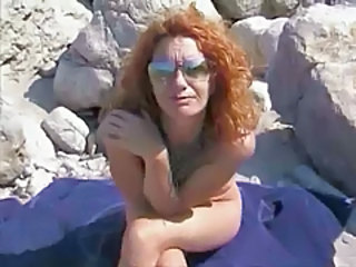 Nudist Beach Mature Glasses Mature Mature Ass Nudist Beach