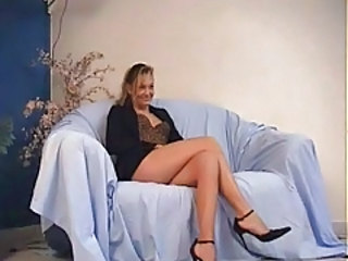 French Casting European Anal Casting Anal Mature French Anal