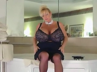 Stockings Mature Silicone Tits Bathroom Tits Big Tits Mature Big Tits Stockings
