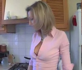 Kitchen French European French Milf
