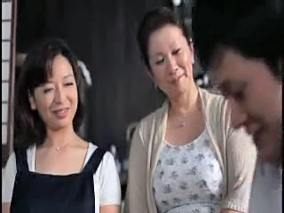 Family Mom Old and Young Asian Mature Asian Teen Daughter