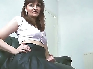 Skirt Mature Nylon Upskirt