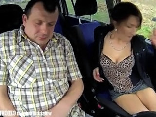 Mature Car Cash Czech