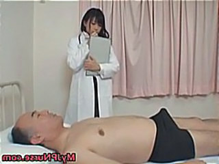 Small Cock Doctor Uniform Asian Babe Daddy Doctor Cock