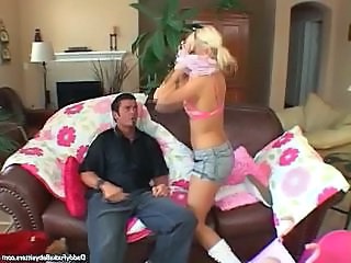 Babysitter and Her Blowjob Service