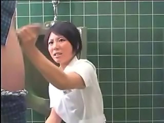 Toilet Handjob Uniform Handjob Asian Japanese Nurse Nurse Asian