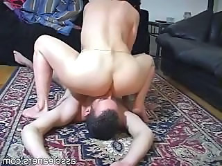 Facesitting Ass Homemade Mistress