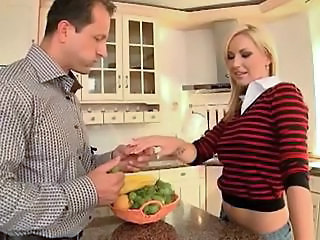 Cute Kitchen MILF Daddy
