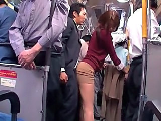 Bus Clothed Asian Bus + Asian Bus + Public Japanese Milf