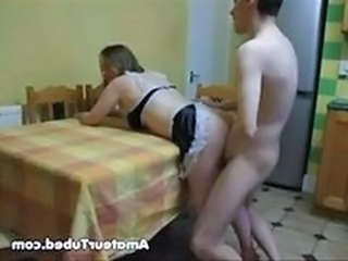 Amateur Doggystyle Kitchen Amateur Doggy Ass French