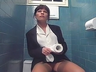 Toilet Asian MILF Milf Asian Toilet Asian
