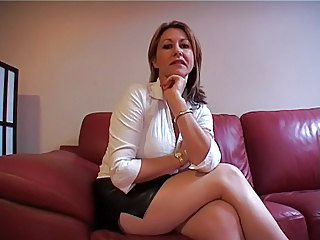 Mature Legs MILF Jerk