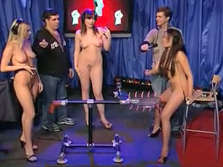 Pornstars Testing A Fucking Machine Upstairs Howard Stern Coitus Tubes