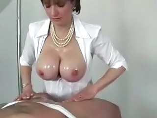 Domina does titfucking until cumming Sex Tubes