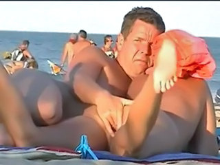 Older Beach Nudist Nudist Beach Outdoor Public