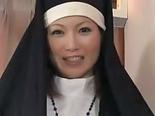 Asian MILF Nun Uniform Milf Asian Masturbating Public