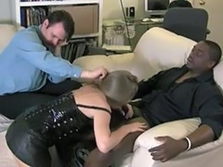 Cuckold Blowjob Clothed