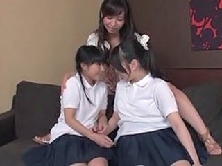 Student Asian Japanese Asian Lesbian Asian Teen Foreplay